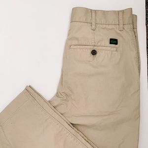 Lacoste / Vintage Chino Pants - Size 30